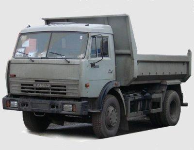 Самосвал КАМАЗ 43255.